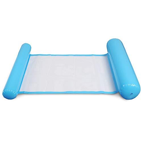 Xiaomu Hamaca de agua inflable para piscina o piscina, multiusos, para adultos