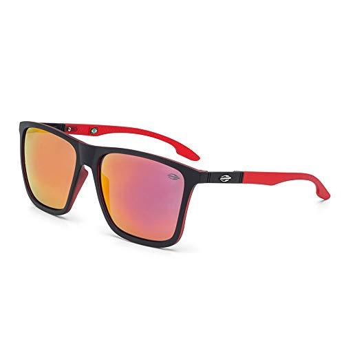 Óculos Sol Mormaii Hawaii M0034AA711 Preto Vermelho