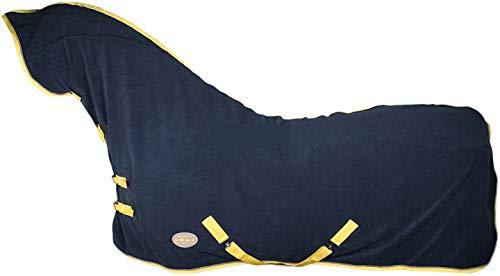 Harrys Horse Fleecedecke Oakville, mit Halsteil, total Eclipse, Größe (cm):165cm