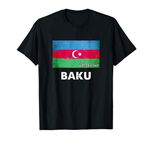 Baku Aserbaidschan Trikot T-Shirt