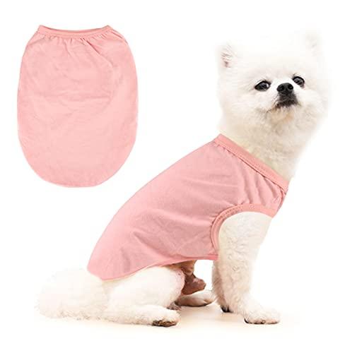 Mosucolera Camiseta De Chaleco De Perro,Camisa De Mascotas Sudaderas Capucha Camisa Top...