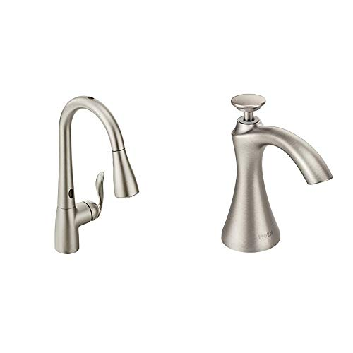 Moen Arbor Motionsense Two-Sensor Touchless One-Handle...