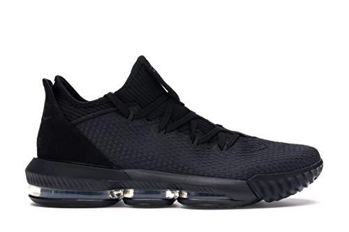Nike Lebron Men's XVI Low Basketball Shoes, (Black/Black-Black, Size 10.5 M US)