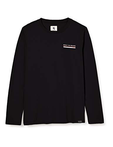 Garcia Kids Jungen T03602 T-Shirt, Off Black, 164-170