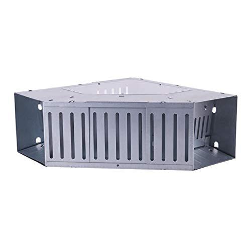 Sweo Kkboyii - Trampa de ratón, automática y continua, reutilizable, gran puerta doble, para ratas, asesino de ratas, ratas, ratas, ratones, jaula de roedores
