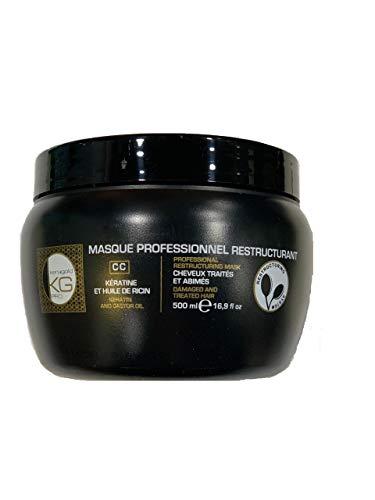 KERAGOLD PRO Masque CC à la Kératine/Huile de Ricin