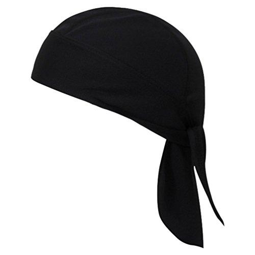 Boboder Gorro de Capucha Que Absorbe el Sudor Protección UV de Bandana de Secado rápido Gorra de cráneo Transpirable Abrigo de Cabeza Ciclismo Correr Sombrero de Pirata de Moto Unisex