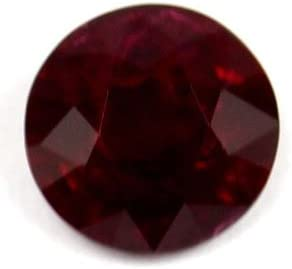 GemsNY 1.25 Carat Ruby Round Large discharge sale Free shipping on posting reviews Natural