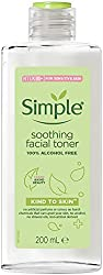 SIMPLE Kind to Skin Soothing Facial Toner, 200 milliliters