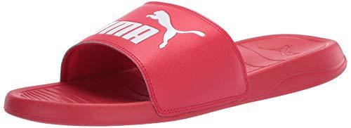 PUMA Popcat Slide Sandal, High Risk Rojo Blanco, 5 M US