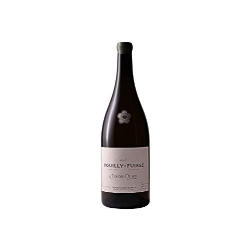 Pouilly-Fuissé Clos des Quarts Cuvée 100 ans MAGNUM Blanc 2017 - Château des Quarts - Vin AOC Blanc de Bourgogne - Cépage Chardonnay - 150cl