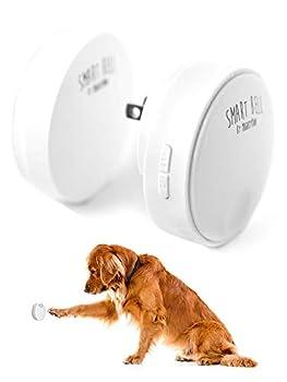 Mighty Paw Smart Bell 2.0 Dog Potty Communication Doorbell Super-Light Press Button Doorbell  1 Activator White