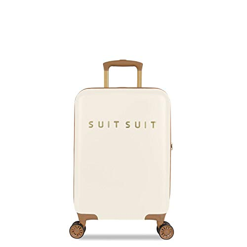 SUITSUIT - Fab Seventies - Handbagagekoffer - 55 cm - Antique White