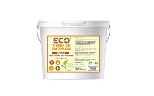 ECO Tierra de Diatomeas Terra di diatomee 5 kg macinata | Commestibile...