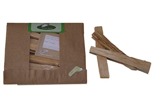 Native Spirit sustainable harvested Palo Santo Incense Wood 6 Pieces each ~1x1x9 Centimeter ~5-6 Grams