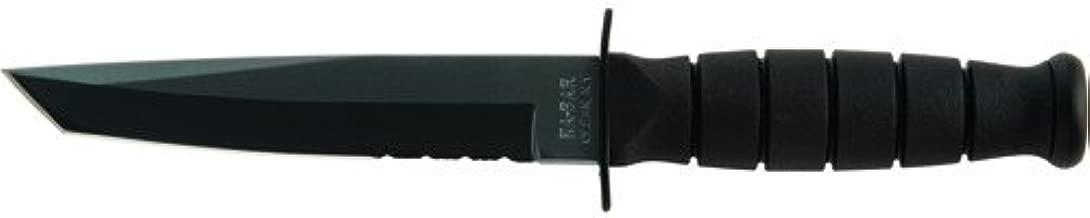 KA-BAR 1255, Short Fighting/Utility Knife, Tanto, Black