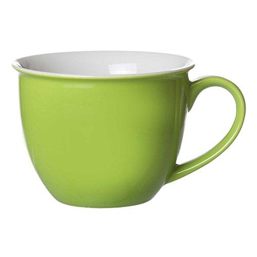 Jumbo-Obere, Tasse, 350 ml, Serie Doppio, grün