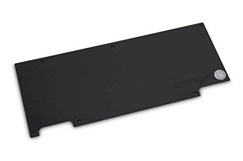 EK Water Blocks 3830046995964 - EK-FC1080 Ti GTX Strix Graphics Card Water Block Backplate (rev 2.0) - Black