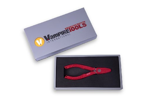 """Vampliers Vampire Professional Tools International VT-001 Portable 6.25"""" Patented Screw Extraction Pliers Best Gift for Dad (Best Gift Set Box)"""