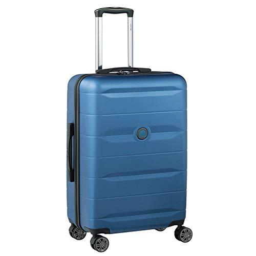 Delsey デルセー スーツケース 機内持ち込み Sサイズ 小型 キャリーケース Mサイズ中型/Lサイズ大型 ABS&PC素材 超軽量 TSAロック搭載 COMETE 70L&ブルー