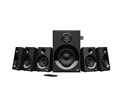 Logitech – Z607 – Sistema de Audio 5.1 – Negro