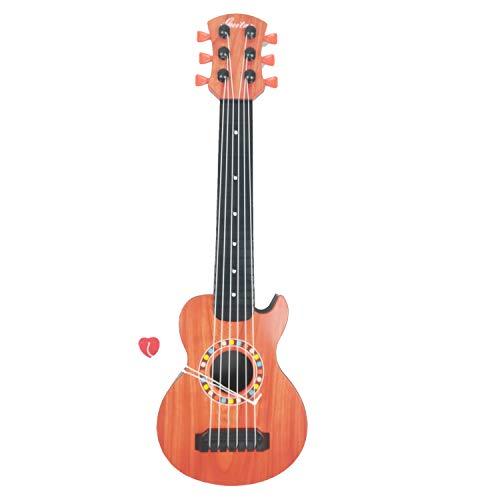 AMATOYS Guitarra de Juguete, Guitarras Infantiles, Guitarra Infantil a Partir de 3 años, Bebé, Instrumento Musical Juguete Musical-S
