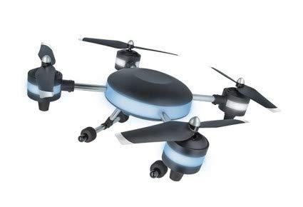 Drohne Luna Fernbedienung Kamera Quadcopter App Handyhalterung Ladekabel schwarz