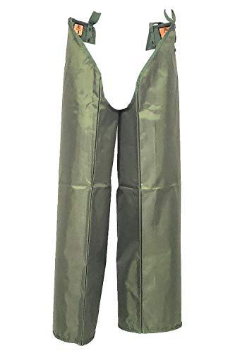 Fratelliditalia Cosciali Gambali Buttero Nylon Impermeabili PVC Colore Verde Caccia Pesca