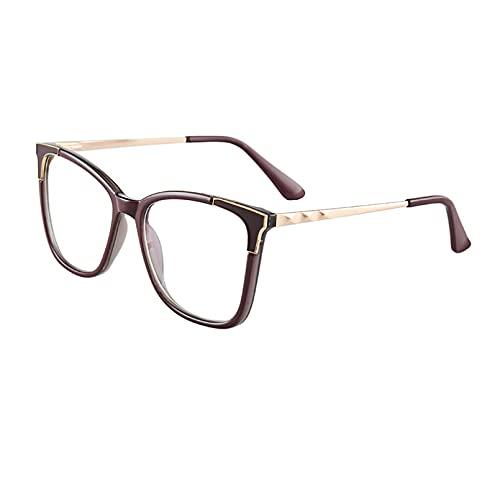 LUOXUEFEI Gafas De Sol Gafas Mujer Gafas Con Montura Grande Gafas Lentes Transparentes