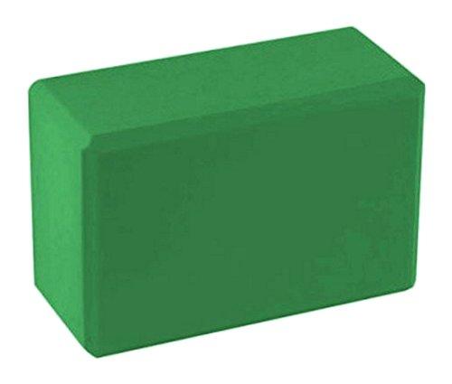 BodyRip-Blocco in Schiuma per Esercizi di Yoga e Pilates, Blocco per Allenamento, Unisex, Yoga Pilates Foam Block, Verde, N/A