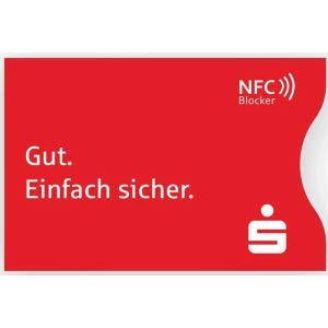 Litfax EC-Kartenhülle Standard RFID Blocker Sparkasse