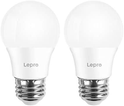 Lepro Refrigerator Light Bulb 40 Watt Equivalent Appliance Bulb Non Dimmable Daylight White product image