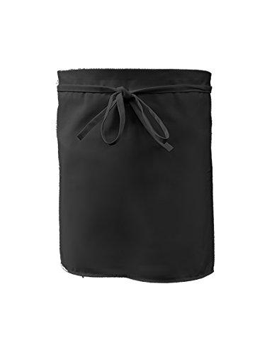 Grevotex Vorbinder 50x100 cm schwarz (viele Farben) Schürze Kochschürze Kellnerschürze Backschürze