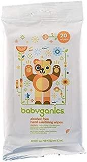 BabyGanics Hand Sanitising Wipes 20 ct.