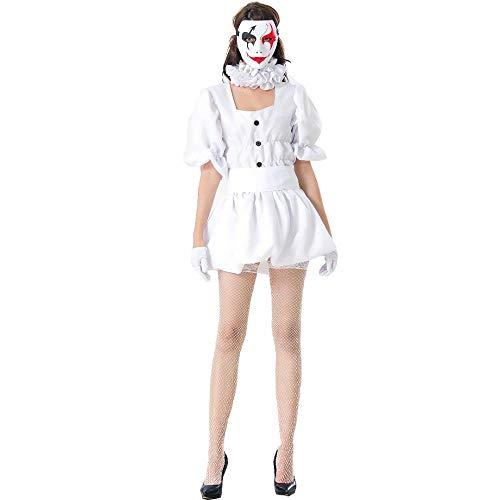 Vestido de Payaso Sexy para Mujeres Adultas, Fantasía de Halloween Payaso de...