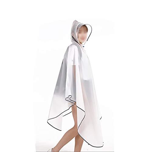 Zz Regenjas poncho Dames regenjas herbruikbaar Opvouwbare Hooded poncho en mouwen Verstelbare halslijn regenjas Fietsen Mountaineering Outdoor kamperen vissen
