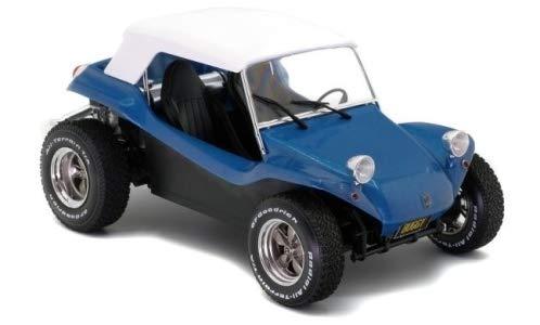 Meyers Manx Buggy, metallic-blau/Weiss, 1968, Modellauto, Fertigmodell, Solido 1:18