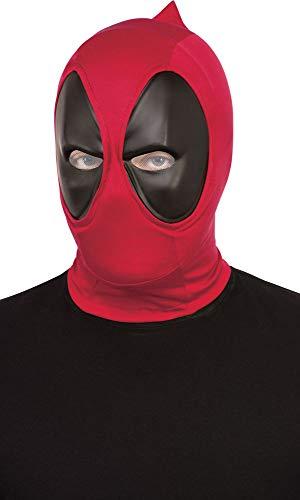 Rubies Máscara oficial de Disney Marvel Deadpool de lujo, accesorio de disfraz de superhéroe, talla única