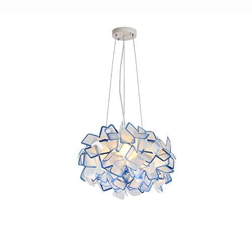 Postmodernista Ambiental Lámpara Colgante,Minimalista Ajustable Linternas Lámpara De Techo,Para Salón Dormitorio Hotel-D 53cm