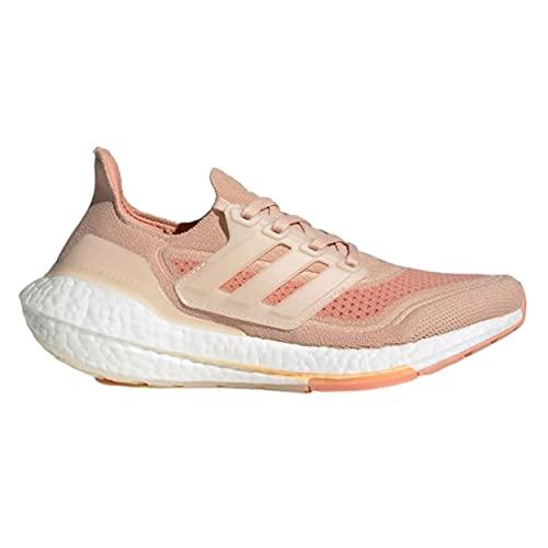 adidas Ultraboost 21 W, Zapatillas de Running Mujer, RUBHAL/BLAMAR/RUBAMB, 40 EU