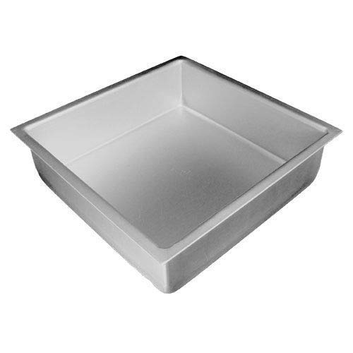 Rantepao – Anodized Aluminum Square Cake Pan, 3″ High (5 x 5 x 3 inch)