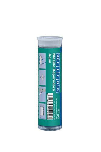 Weicon 10531057-36 Barra reparadora, Aqua, 57 g, Pegamento de 2 Componetes, Resina epoxi, Blanco