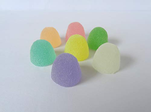 Fake Candy Rainbow PASTEL LARGE Gumdrops Display Food Prop Decor