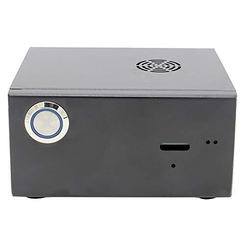 Andifany per Raspberry Pi X820 V3.0 Ssdandhdd Sata Storage Board Matching Metal Case/Custodia Interruttore di Controllo Alimentazione Kit Ventola di Raffreddamento