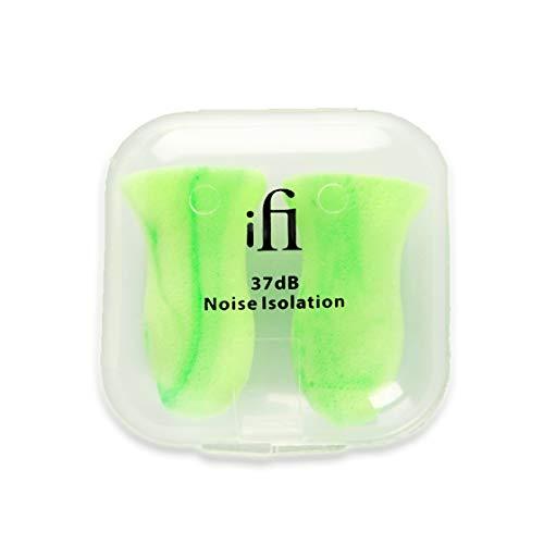 Tapones para los oídos de espuma de memoria suave iFi, 8 pares, reducción de ruido de 37dB, cómodos tapones para oídos para dormir, ronquidos, conciertos y viajes