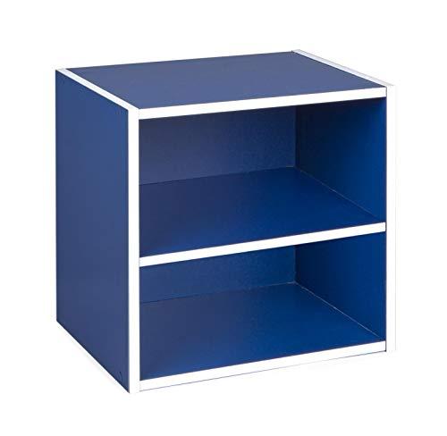 BIZZOTTO cubo con mensola, Blu