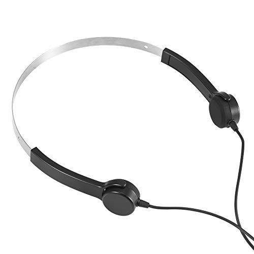 Kafuty YKL-801 Knochenleitungs-Headsets verkabelt Hörgeräte Knochenleitungs-Kopfhörer 3,5 mm AUX IN Audiokabel zum Telefon-Tablet-Notebook, das für Hörprobleme geeignet ist