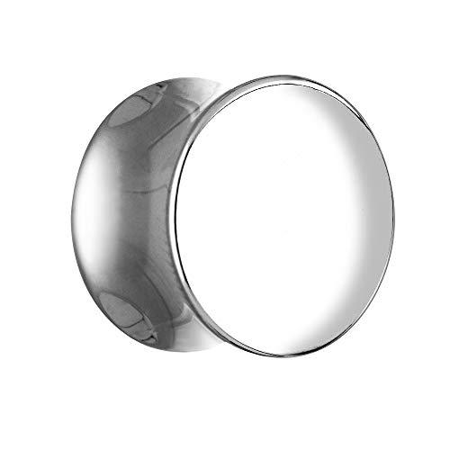 Treuheld Classic Plug - Stahl - Silber 5 mm