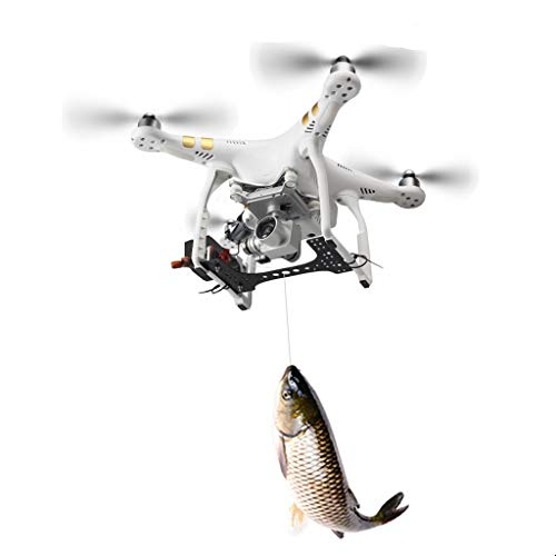 Vkarh Thrower for DJI Phantom 3/3 PRO/3 Adv/ 3SE 3 Series, Drone Payload Delivery Transport Device, Drone Release Device for Fishing/Bait Released/Carrying Gift/Advertising/Search/Rescue