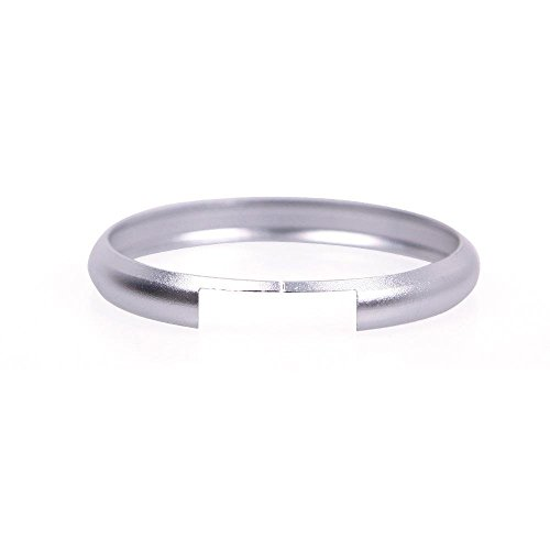 XCSSKG Fashion Mooie Mini Cooper Sleutelhangers Aluminium sleutelhanger (zilver)